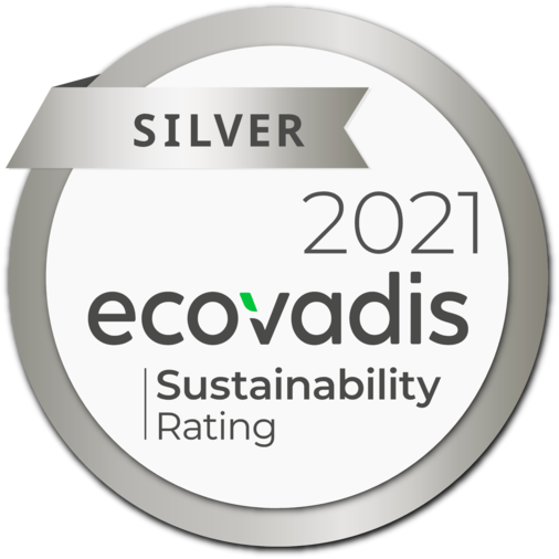 Once again we received the silver medal for our corporate social responsibility commitment!